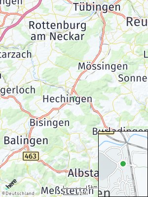 Here Map of Hechingen