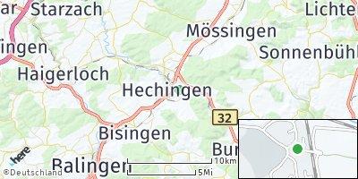Google Map of Hechingen