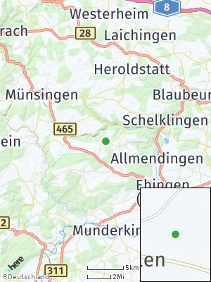 Here Map of Tiefenhülen