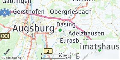 Google Map of Heimatshausen