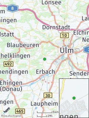 Here Map of Eggingen