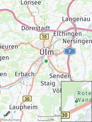 Here Map of Wiblingen