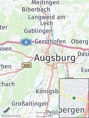 Here Map of Stadtbergen