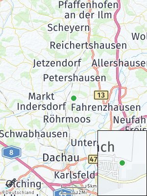 Here Map of Vierkirchen
