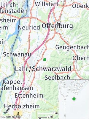 Here Map of Friesenheim