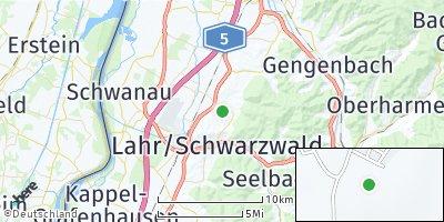 Google Map of Friesenheim