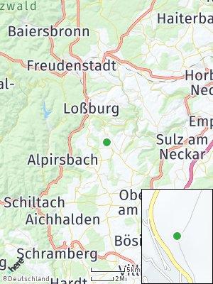 Here Map of Betzweiler-Wälde
