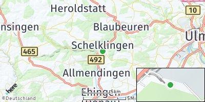 Google Map of Schelklingen