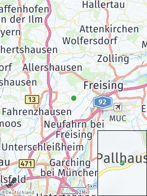 Here Map of Pallhausen