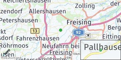 Google Map of Pallhausen