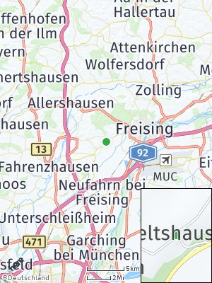 Here Map of Lageltshausen