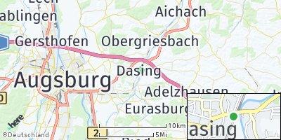 Google Map of Dasing