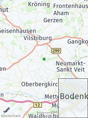 Here Map of Bodenkirchen