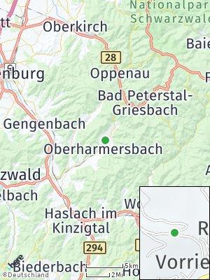 Here Map of Oberharmersbach