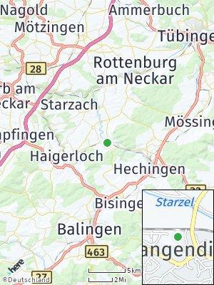 Here Map of Rangendingen
