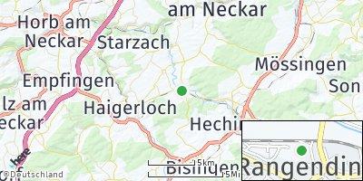 Google Map of Rangendingen