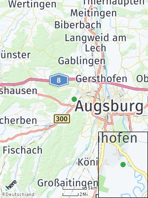 Here Map of Hainhofen
