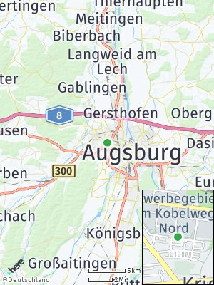 Here Map of Kriegshaber