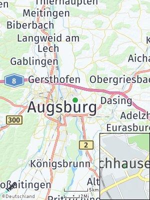 Here Map of Lechhausen