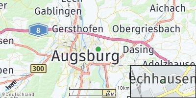 Google Map of Lechhausen