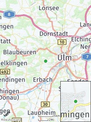 Here Map of Ermingen
