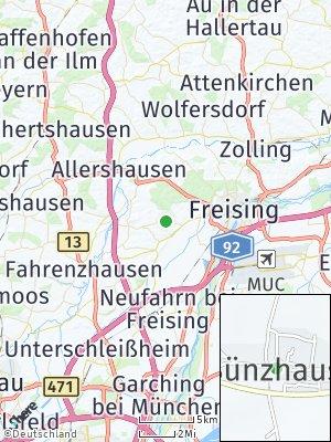 Here Map of Sünzhausen