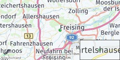 Google Map of Gartelshausen