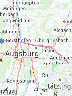 Here Map of Stätzling