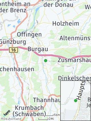 Here Map of Jettingen-Scheppach