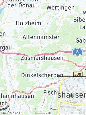 Here Map of Zusmarshausen