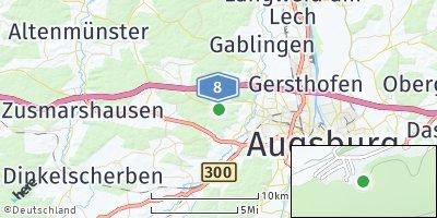 Google Map of Aystetten