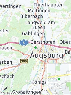 Here Map of Neusäß