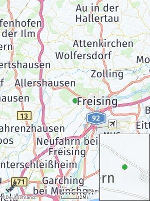 Here Map of Hohenbachern