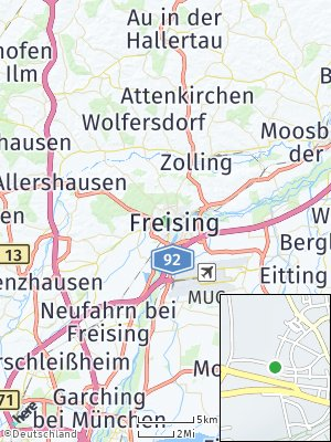 Here Map of Freising