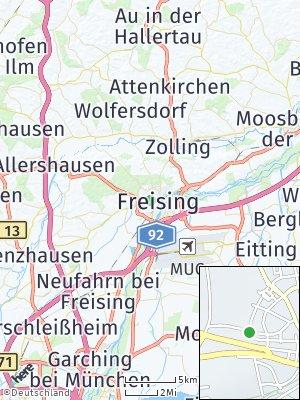 Here Map of Weihenstephan