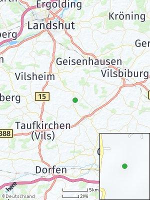 Here Map of Neufraunhofen
