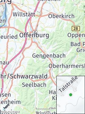 Here Map of Berghaupten