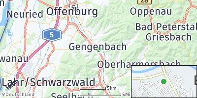 Google Map of Gengenbach