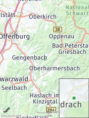 Here Map of Nordrach
