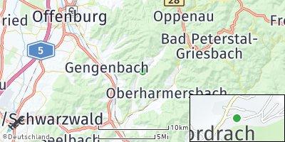 Google Map of Nordrach