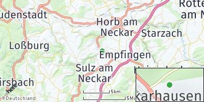 Google Map of Neckarhausen