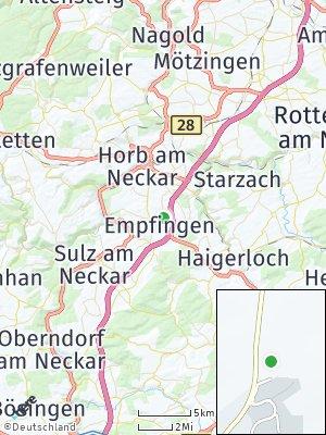 Here Map of Empfingen