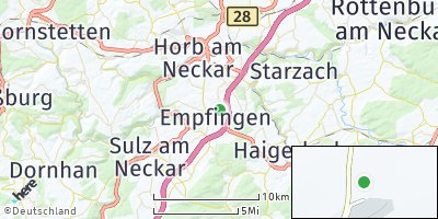 Google Map of Empfingen
