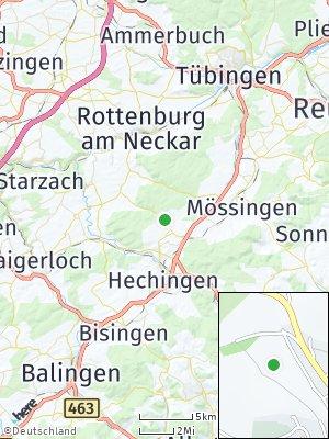 Here Map of Bodelshausen