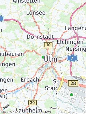 Here Map of Söflingen