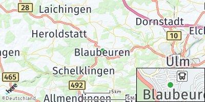 Google Map of Blaubeuren