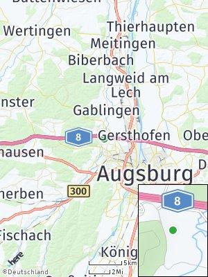 Here Map of Täfertingen