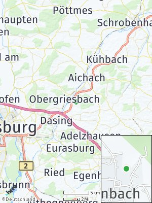 Here Map of Gallenbach