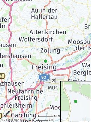 Here Map of Untergartelshausen