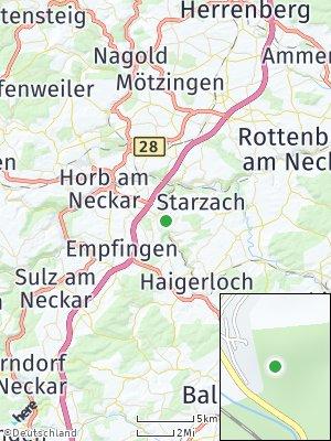Here Map of Mühringen